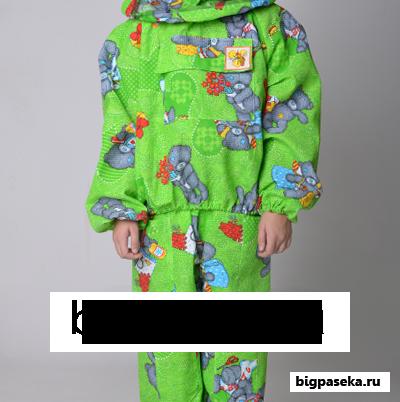 костюм пчеловода детский - цвет зеленый