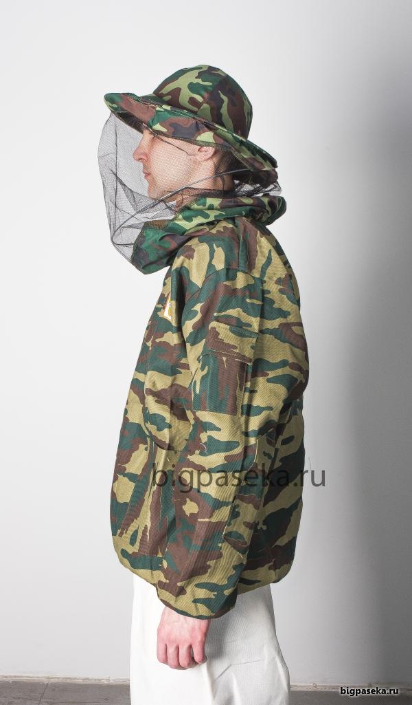 Куртка пчеловода КАМУФЛЯЖНАЯ фото 1