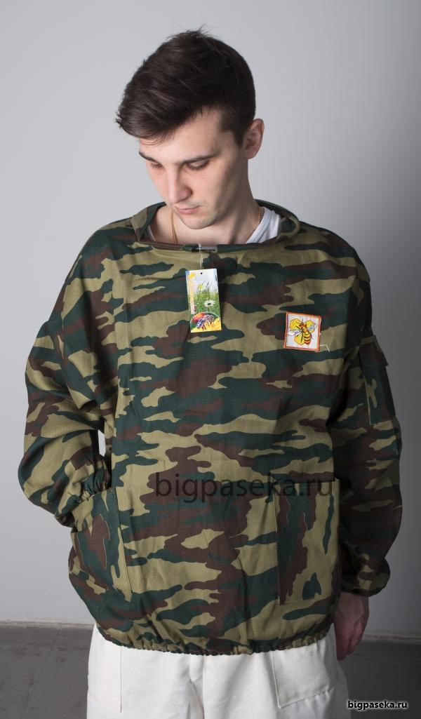 Куртка пчеловода КАМУФЛЯЖНАЯ фото 3