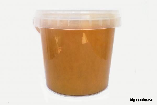 Цветочный крем мёд, тара 1 литр